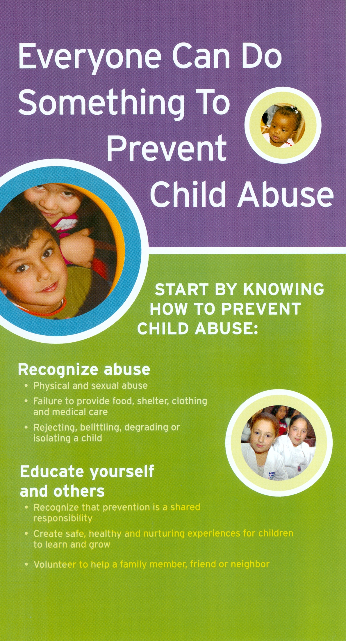 child abuse and prevention Capa promotes awareness and provides tools to help make this possible capa is committed to preventing and treating all forms of child abuse and neglect by creating changes in individuals, families and society that strengthen relationships and promote healing.